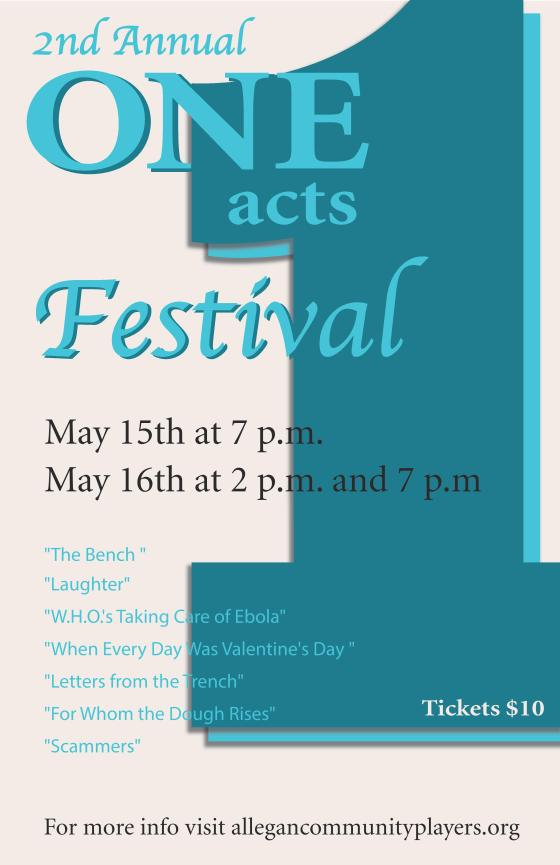 2nd Annual One Acts Festival!
